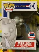 Funko Pop Ad Icon Singapore Merlion 14 Simply Toys Exclusive Blemished Box