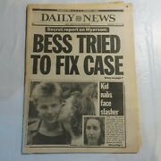 Daily News June 10 1987 Myerson Bess Tried To Fix Case Kid Nabs Face Slasher Nb