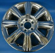 Lincoln Mkx 2007-2010 Used Oem Wheel 18x7.5 Stock Factory 18 Rim Chrome Clad