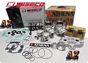 Banshee Athena 64mm Complete Stock Bore Cylinders Wiseco Pistons Crank Head Kit