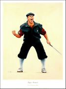 Payne Stewart Limited Edition Print From A Painting By Peter Deighan