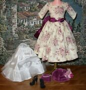 ❤ Madame Alexander ❤ Outfit Made For Vintage Cissy Doll ❤ Fits 19 - 20 Tall