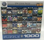 Vw Official Licensed Bus Cool Faces Jigsaw Puzzle 1000 Piece Eurographics New