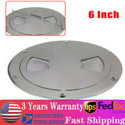 6 Inch 316 Stainless Steel Boat Marine Deck Plate Inspection Access Hatch Cover