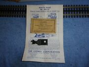 Postwar Lionel Magnetic Coupler, Unused And 1103-11 Packet And Instructions