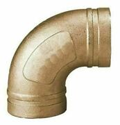Grinnell 61060s 90 Degree Cts Elbow Figure 610, Grooved, Cast Copper Alloy