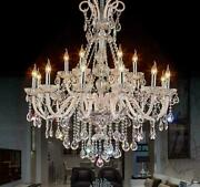 Modern Crystal Chandeliers For Diming And Bedrooms Luxury Party Xmas Lighting Lamp