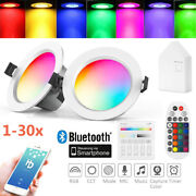 Wifi Bluetooth App Smart Rgb+ww+cw Led Ceiling Panel Lamp Down Light Dimmable