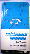 Johns-manville Asbestos Dust Exposure Valve Pump Packings Gaskets Manual 1970and039s