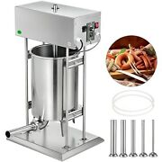 Electric Sausage Maker Sausage Stuffer 30l Meat Filler Machine Stainless Steel