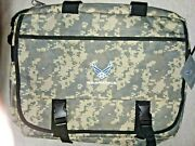 Us Air Force Messenger Bag 17x12 New Green Digital Camouflage