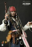 Hot Toys 🔥 Dx06 Jack Sparrow 1/6 Scale Figure New Unopened Sealed Box 🇺🇸...