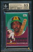 2020 Topps Project 2020 Artist Proof Tony Gwynn By Jacob Rochester Bgs 9.5 /20