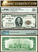 1929 100 Federal Reserve Bank Note Pmg Graded Dallas Texas Fr-1890k
