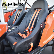 Pair Of Apex Suspension Seats For 2016+ Yxz 1000 By Aces Racing