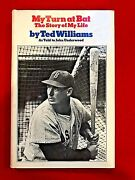 My Turn At Bat Ted Williams Hardcover 1969 Signed Excellent Condition