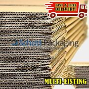 Strong Single And Double Wall Cardboard Boxes - Postal Removal Moving - Quality