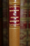 1761 The Ornaments Of Churches Considered St Margarets Westminster William Hole