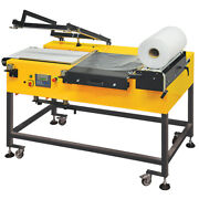 L-sealer 400 X 500mm With Auto Take-off And Twin Seal Hs400-at-tw