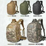 25l Tactical Backpack Knapsack Shoulder Pouch W/ Molle Hookandloop 2 Compartments