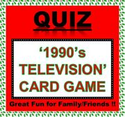 And0391990and039s Tvand039 Pub Quiz Trivia Card Game Table Fun Families/friends/zoom Etc.