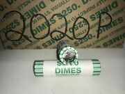2 2020 P Roosevelt Dime Boxes 100 Rolls Sealed From Bank- Bu N.f. String