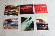 Complete Collection Of Original Oem Ford Mustang Sales Brochures 1964-2007