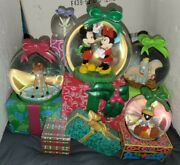 Disney Store Christmas Presents From All Of Us To All Of You Musical Snowglobe