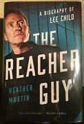 The Reacher Guy A Bio Of Lee Child By Heather Martin 2020 Hc Signed 1st/1st