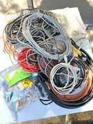 Huge Lot  Cctv Security Camera - Cable - Internet  Installer Supplies 30lbs