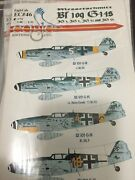 Eagle Editions Eagle Cal Ec72-46 1/72nd Scale German Bf 109g-14and039s Gpm