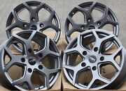 Alloy Wheels X 4 18 Gm Viper 4 For Vauxhall Vivaro Renault Trafic