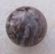 Amethyst Lace Sphere 41mm For Decor Or Collectible 4666