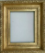 19 Century English Style Hand Made Giltwood And Gesso Frame