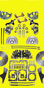 Gm Front And Rear Disc Brake Kit 10 12 Bolt A F X Body Conversion Brakes Sh And Pr