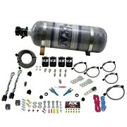 Nitrous Express 20124-12 Ford Efi Dual Stage Hp X 2 Composite Bottle