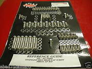 Sbc Small Block Chevy Stainless Steel Bolt Kit Dress Up