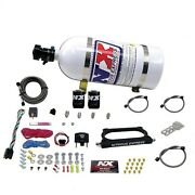 Nitrous Express 20949-10 Gt500 Nitrous Plate System 50-300hp With 10lb Bottle