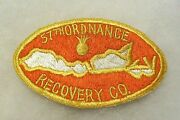 Korea War 57th Ordnance Recovery Co Japanese Made Patch