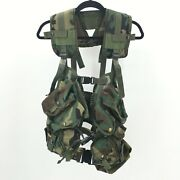 Us Military Army Ammo Carrier Combat Vest Camouflage Green Load Bearing Vest