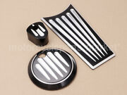 Motorcycle Fuel Tank Door Dash Track Insert Ignition Cap Fit For Harley Touring