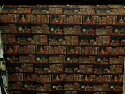 5 Yds Gorgeous Rare Robert Allen Library Study Books Tapestry Upholstery Fabric