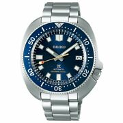 Seiko Prospex 55th Limited Sbdc123 Automatic Marine Blue Stainless Menand039s Watch