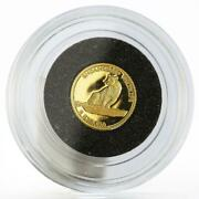 Malawi 5 Kwacha Endangered Wildlife Series The Leopard Gold Proof Coin 2004