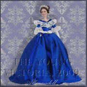 Barbie Ooak The Young Victoria Doll Repaint By Allannadoll