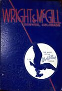 Wright And Mcgill The Mark Of The Worldand039s Best Tackle 1930 Salesmanand039s Sample Book