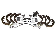 Deluxe Kit Brake Shoes And Cylinders 58 Chevrolet Cars W/ Manual Brakes 1958 Chevy