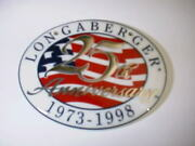 Longaberger Rare Retired Cclub 25th Usa Flag Magnet-limited Edition-new In Bag