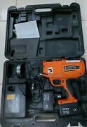 Benner Nawman Rebar Tier Bnt 40 Kit With 2 Batterys And Charger