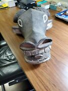 Antique African Water Buffalo Mask